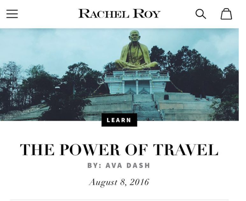 brand partnership with rachel roy