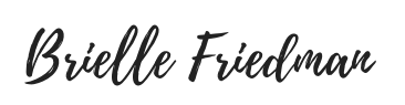 Brielle Friedman Logo