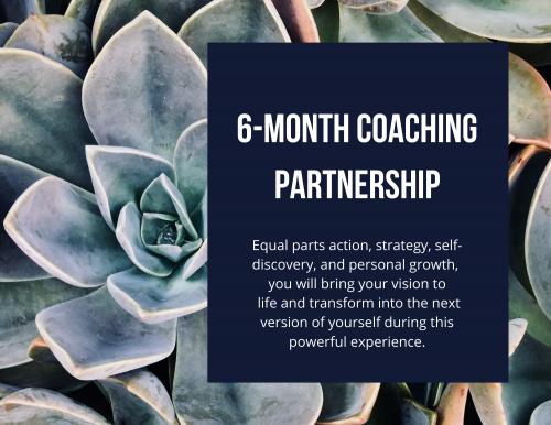 6-Month Coaching Partnership